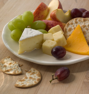 ... fruit and cheese plate & Redesigned Starbucks - Homepage